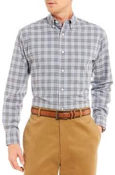 Daniel Cremieux Signature Heather Plaid Long-Sleeve Woven Shirt