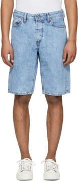 Diesel Blue Keeshort Denim Shorts