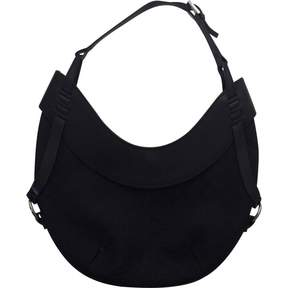 Gucci Black Cotton Handbag Hobo - BLACK - STYLE