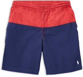 Polo Ralph Lauren Boys' Color-Block Poplin Shorts - Big Kid