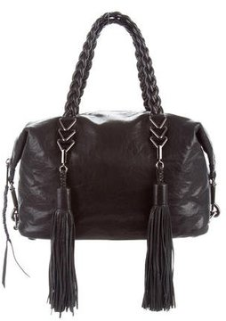 Rebecca Minkoff Soft Leather Satchel - BLACK - STYLE