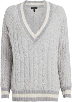 Rag & Bone Theon Merino Wool Cable Knit Sweater