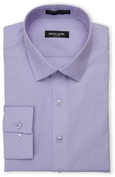 Pierre Cardin Violet Slim Fit Dress Shirt