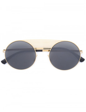Mykita round horizontal detail sunglasses