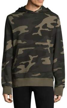 Ovadia & Sons Camouflage Cotton Hoodie