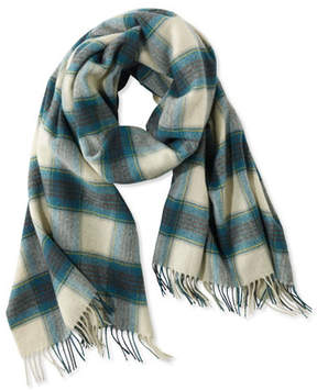 L.L. Bean Signature Plaid Scarf