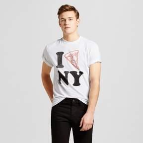Awake Men's New York By The Slice T-Shirt - White