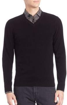 Saks Fifth Avenue COLLECTION Cashmere V-Neck Sweater