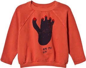Bobo Choses Spice Route Footprint Raglan Sweatshirt