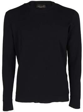 Roberto Collina Men's Blue Cotton Sweatshirt.