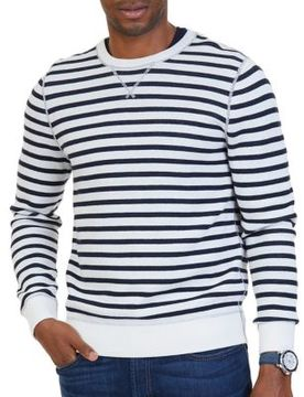 Nautica Striped to Solid Sweater