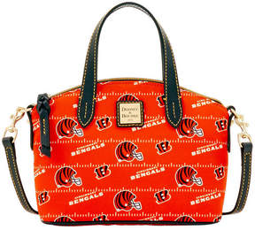 Dooney & Bourke Cincinnati Bengals Nylon Mini Crossbody Satchel - BLACK - STYLE