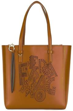 Salvatore Ferragamo patterned bag