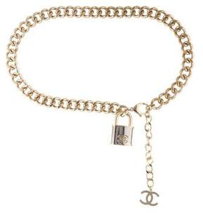 Chanel Chain-Link Waist Belt w/ Tags