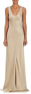 Alberta Ferretti Women's Embellished Silk Charmeuse Gown