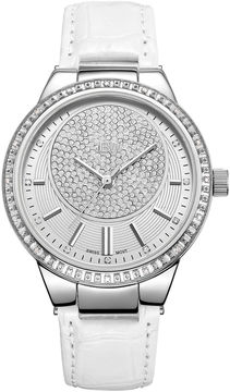 JBW Camille Stainless Steel 0.16 C.T.W Diamond Accent Womens White Bracelet Watch-J6345b