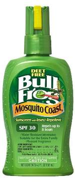 Bullfrog Mosquito Coast® Sunscreen - SPF 30 with Insect Repellent Spray 4.7oz