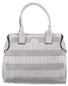 Tod's Cape Studded Perforated Tote