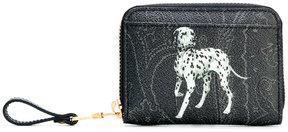 Etro Dalmatian print coin purse