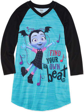 Disney Long Sleeve Vampirina Nightshirt - Girls