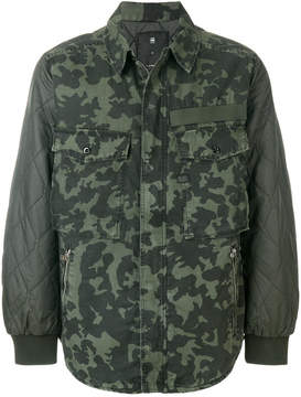 G Star camouflage print jacket