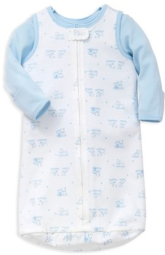 Little Me Boys' Hugs Top & Sleep Bag Set - Baby