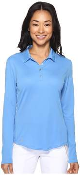 adidas Performance Long Sleeve Polo Women's Long Sleeve Pullover