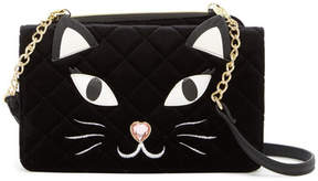 Betsey Johnson Quilted Crossbody Clutch Bag