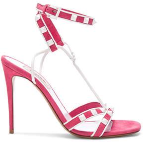 Valentino Free Rockstud Ankle Strap Sandals