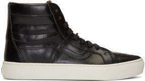 Vans Black Horween Edition Sk8-Hi Cup LX Sneakers