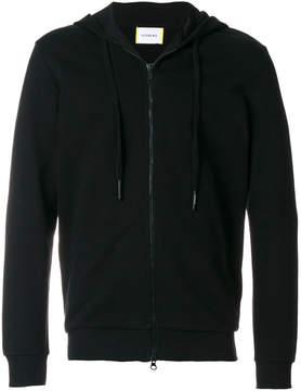 Iceberg logo patch hooded sweatshirt