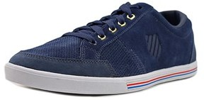 K-Swiss Match Court Men Round Toe Suede Blue Sneakers.