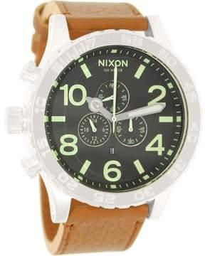 Nixon 51-30 Chronograph Black Dial Men's Watch A1241037