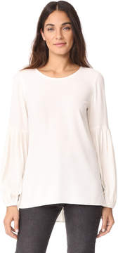 Elizabeth and James Harriet Big Sleeve Scoop Neck Top