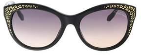 Roberto Cavalli Rc992/s Tseang 05b Black Cat Eye Sunglasses.