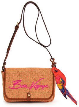 Tommy Bahama Parrot Bay Embroidered Crossbody Clutch