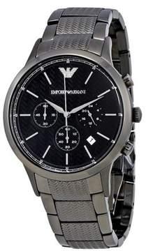 Giorgio Armani Emporio Stainless Steel Chronograph Mens Watch AR2505