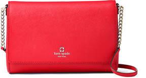 Kate Spade Cherry Liqueur Charlotte Street Alek Leather Crossbody Bag