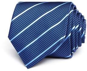 HUGO Textured Stripe Skinny Tie