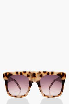 boohoo Oversized Square Plastic Sunglasses