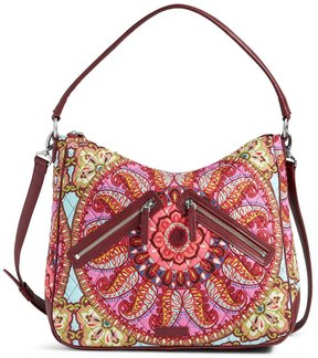 Vera Bradley Vivian Signature Hobo Bag - RESORT MEDALLION - STYLE