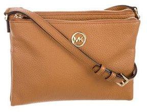 MICHAEL Michael Kors Fulton Crossbody Bag - BROWN - STYLE