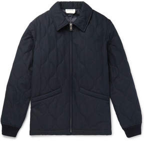 A.P.C. + Louis W Emil Quilted Cotton-Blend Twill Jacket