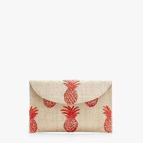 KayuTM hand-embroidered envelope clutch