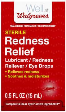 Walgreens Redness Relief Eye Drops
