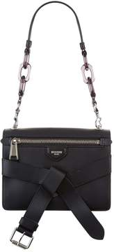 Moschino Tie Detail Leather Bag