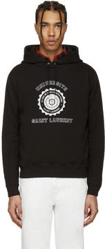 Saint Laurent Black Université Hoodie