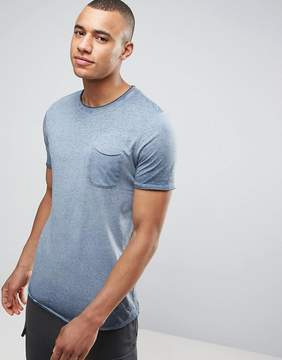 Jack and Jones Vintage Longline T-Shirt with Pocket