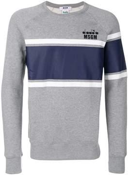 MSGM x Diadora printed sweatshirt