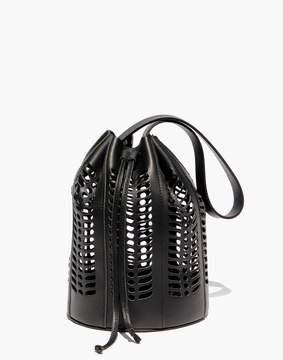 Madewell Modern Weaving Jute Die Cut Bucket Bag
